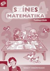Színes matematika Tudáspróbák 4. osztály