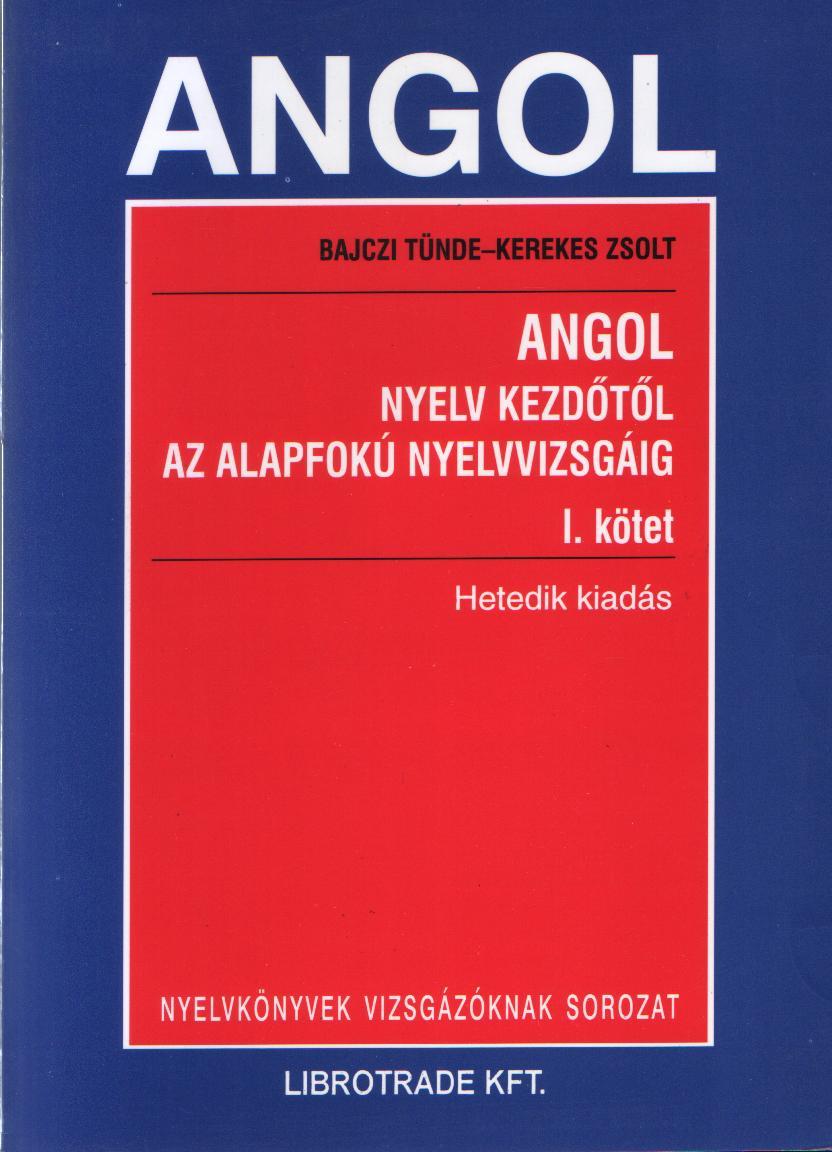 Angol nyelv I.-II. kötet