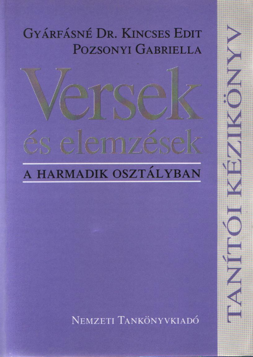 Versek és elemzések