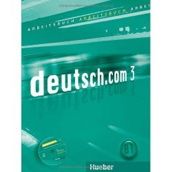 deutsch.com 3 Arbeitsbuch audio-CD-vel