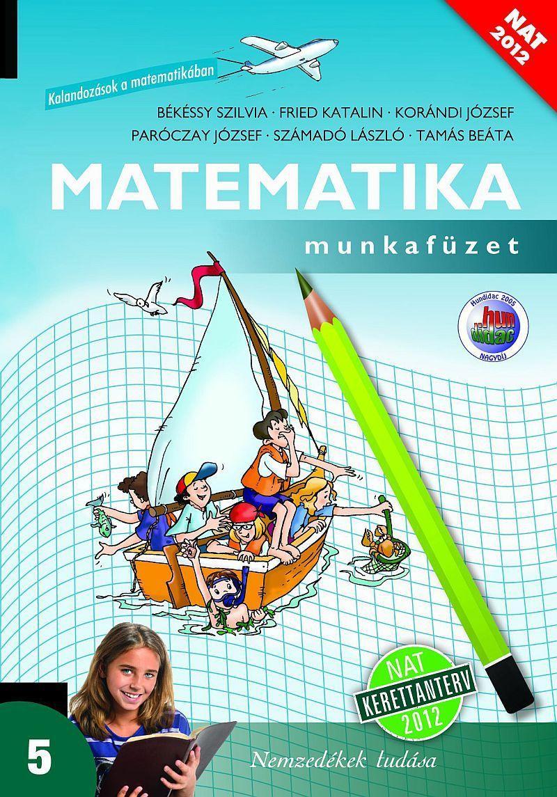 Matematika munkafüzet 5. évfolyam