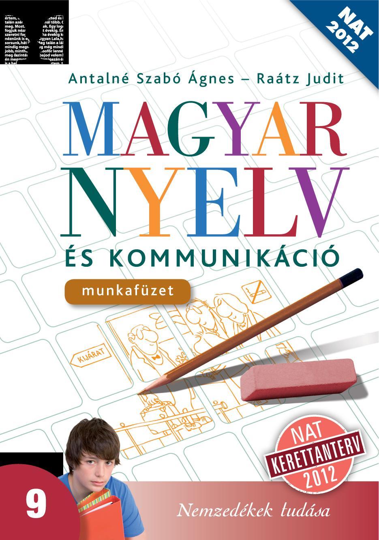 Magyar nyelv és kommunikáció 9. mf.