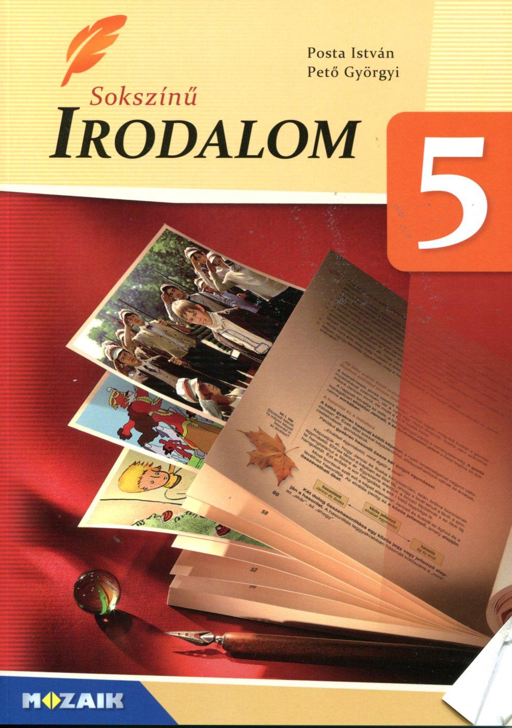 Sokszínű irodalom tankönyv 5. osztály
