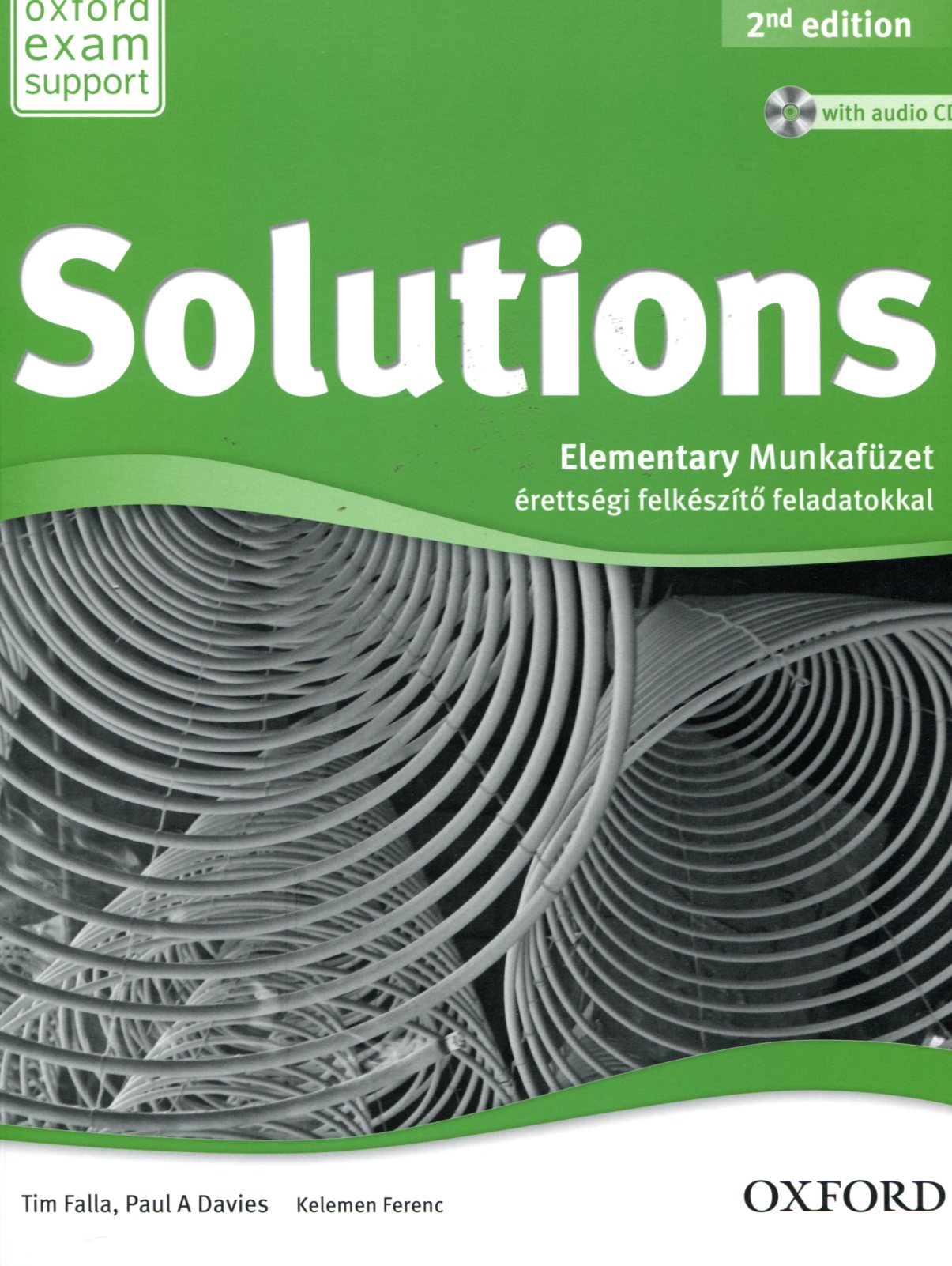 Solutions Elementary 2nd edition Munkafüzet + audio CD