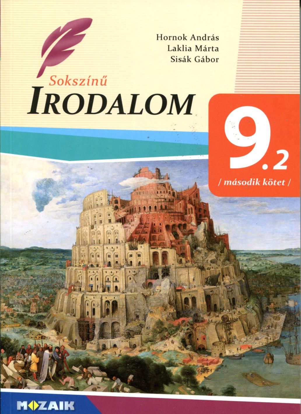 Sokszínű irodalom 9 2 Második kötet