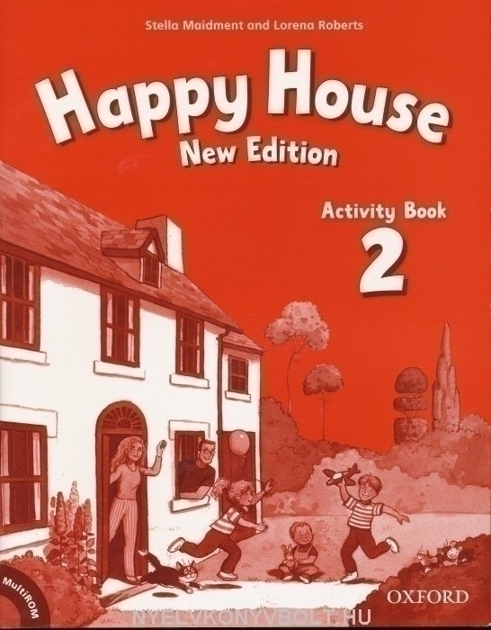 Happy House 2 New Edition Activity Book + MultiROM