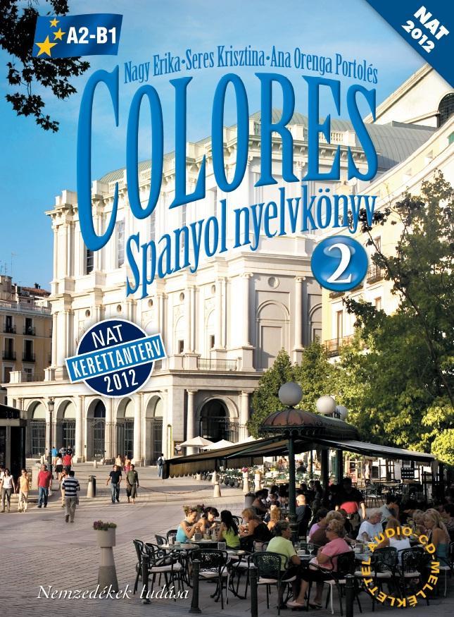 COLORES 2. Spanyol nyelvkönyv