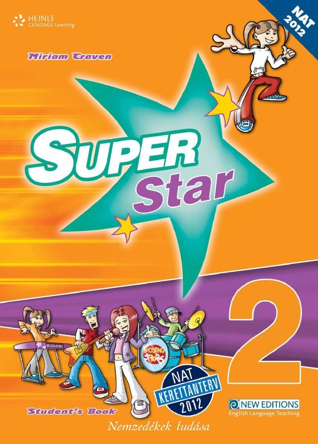 Super Star 2. Tankönyv