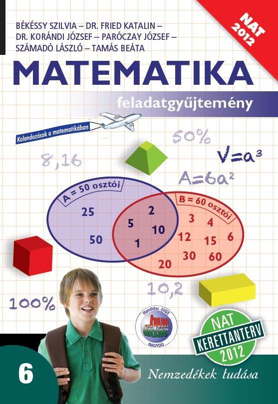 Matematika 6. feladatgyűjtemény