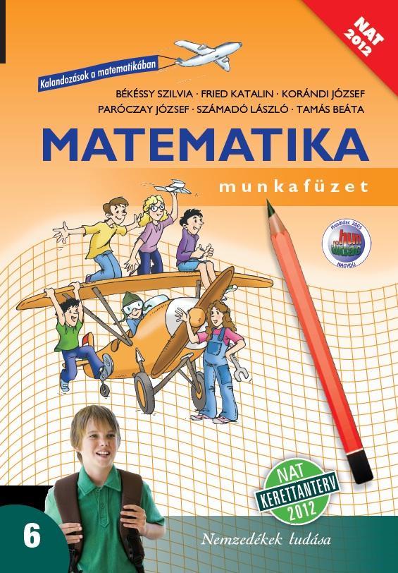 Matematika 6. munkafüzet