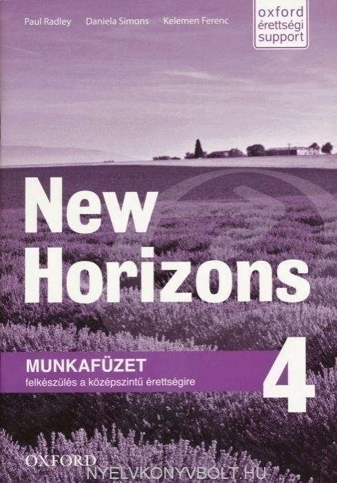 New Horizons 4 Munkafüzet