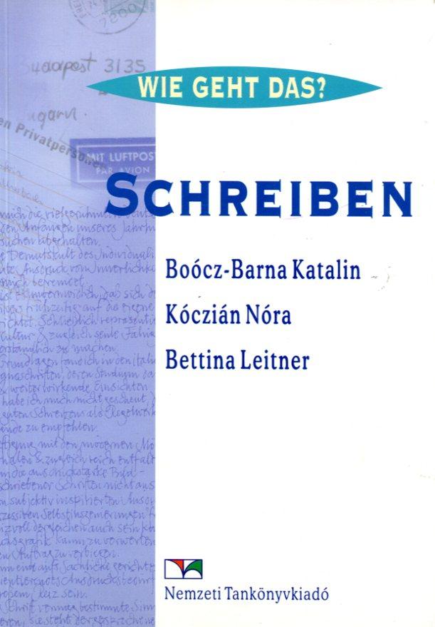 Schreiben Íráskészség-fejlesztő gyakorlókönyv