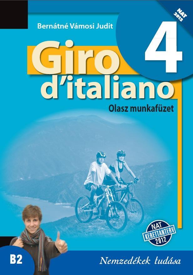 Giro d'italiano 4 olasz munkafüzet