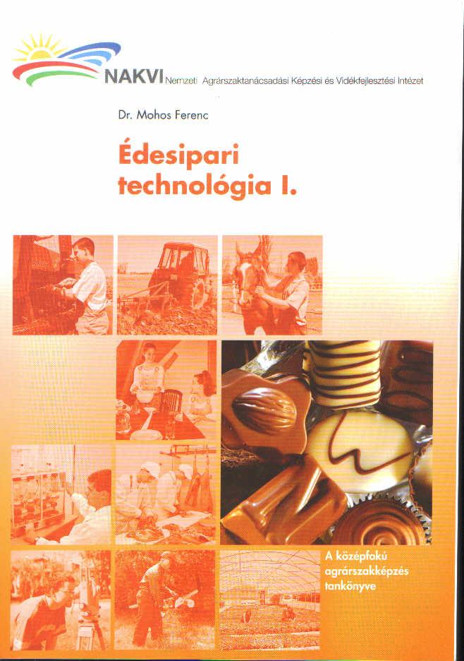 Édesipari technológia I.