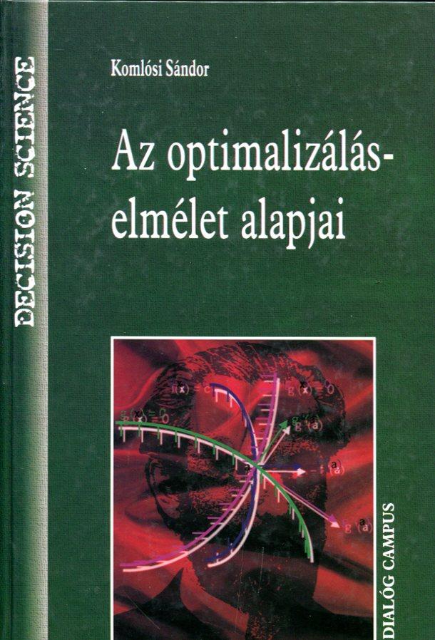Az optimalizálás-elmélet alapjai