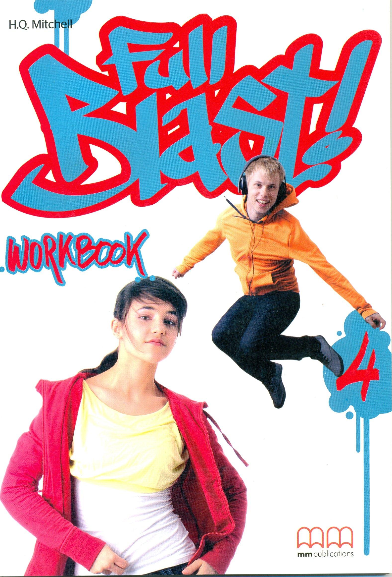 Full Blast 4 Workbook (incl. CD-ROM)