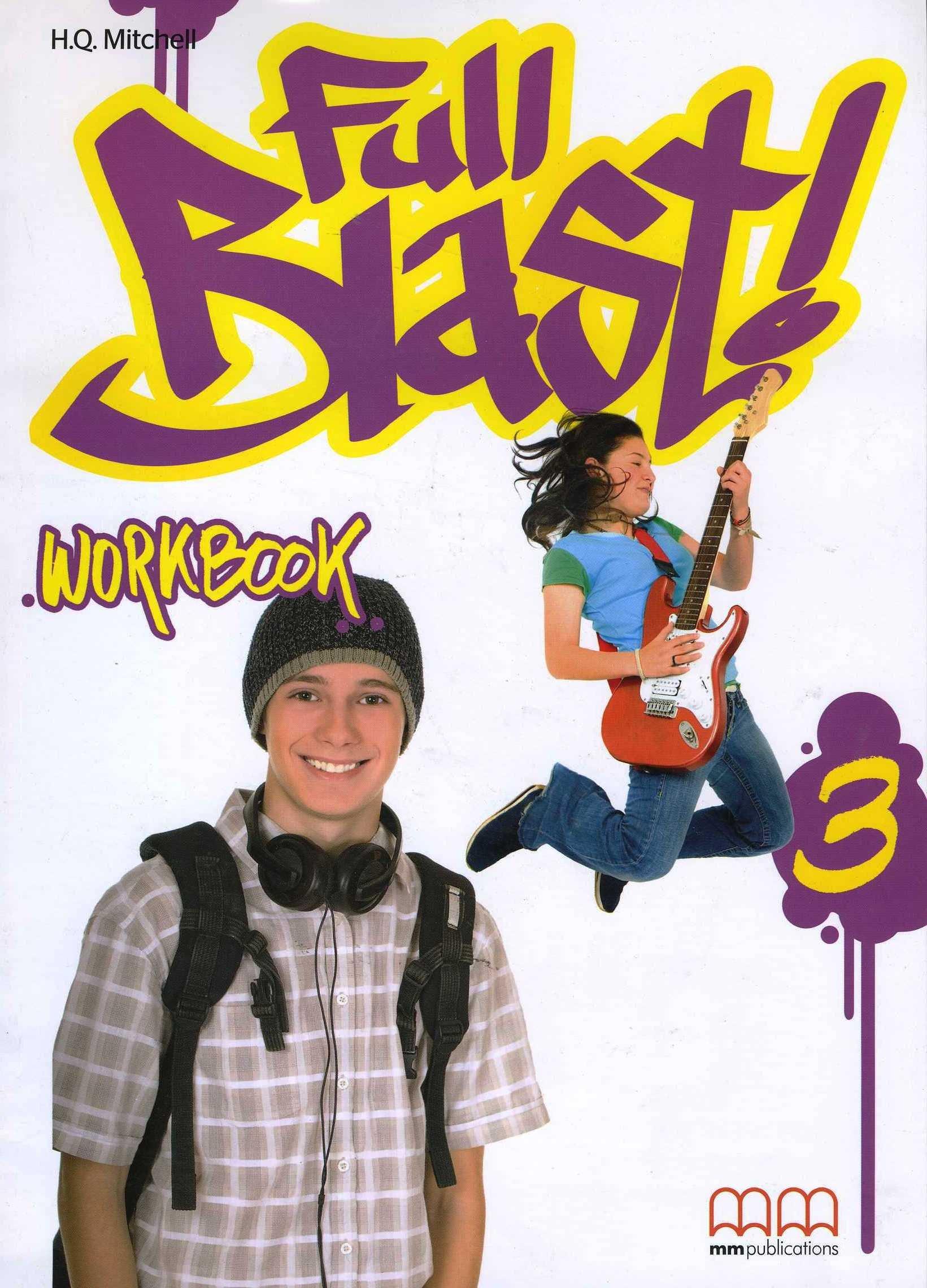 Full Blast 3 Workbook (with CD-ROM)