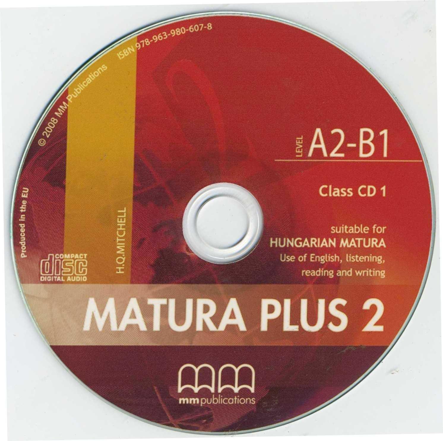 Matura Plus 2 Class CDs
