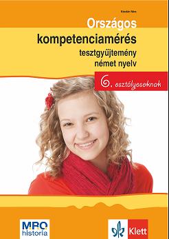 Országos kompetenciamérés tesztgyűjtemény német nyelv – 6. osztályosoknak