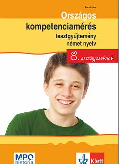 Országos kompetenciamérés tesztgyűjtemény német nyelv – 8. osztályosoknak