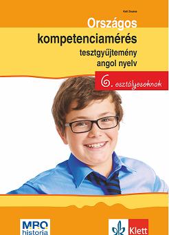 Országos kompetenciamérés tesztgyűjtemény angol nyelv – 6. osztályosoknak