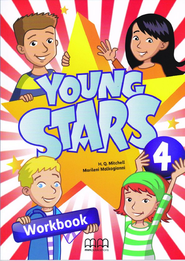 Young Stars 4 Workbook (with CD-ROM)