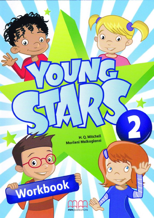 Young Stars 2 Workbook (with CD-ROM)