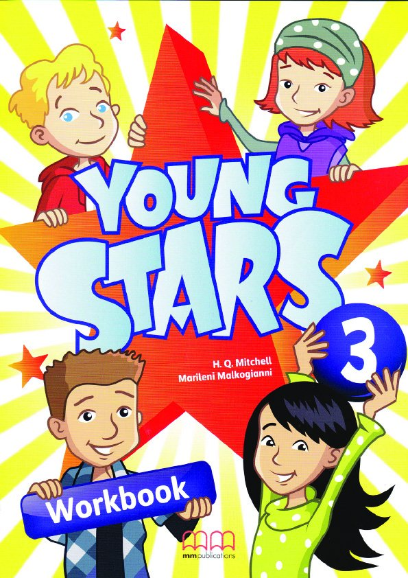 Young Stars 3 Workbook (with CD-ROM)