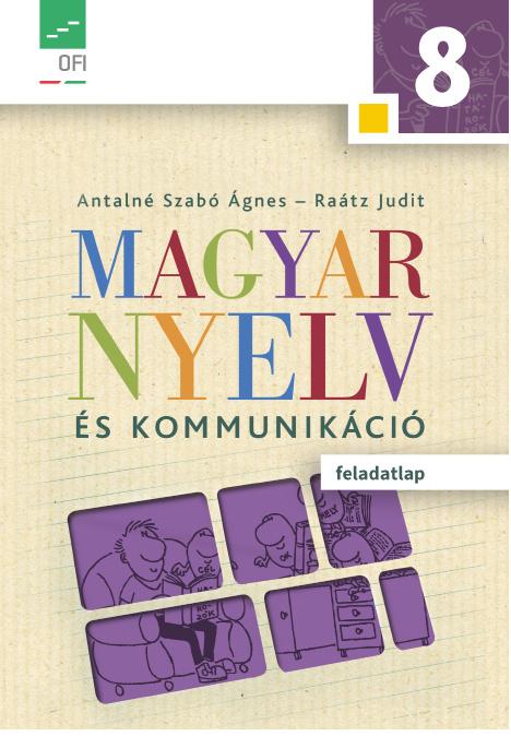 Magyar nyelv és kommunikáció 8. feladatlap