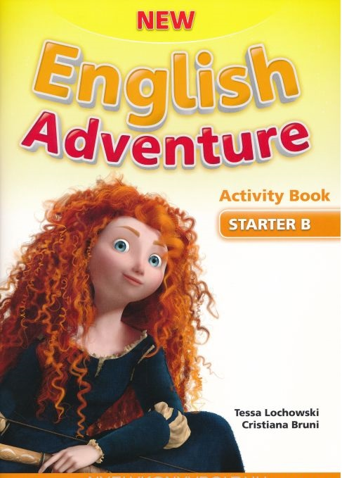 New English Adventure Starter B Activity Book with Songs and Stories CD