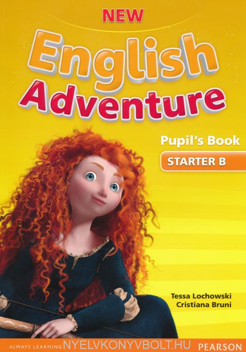 New English Adventure Starter B Pupils's Book with DVD