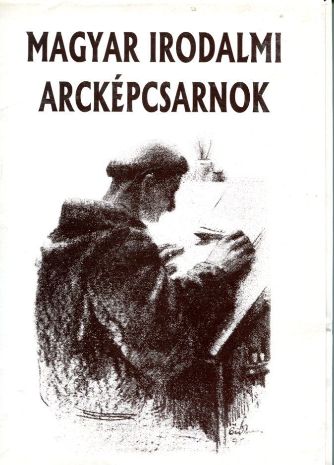 Magyar irodalmi arcképcsarnok J. Pannoniustól – Madáchig (17 db kép)